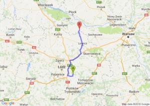 Trasa Borowa - Sanniki