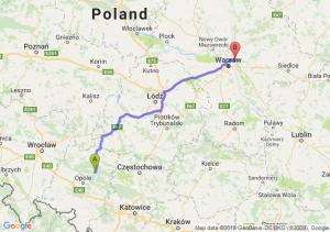 Trasa Bierdzany - Zielonka