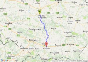 Trasa Tuszyn - Wieliczka