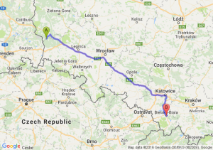 Gozdnica (lubuskie) - Bielsko-Biała (śląskie)