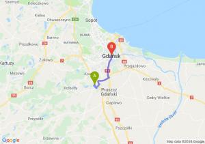 Trasa Straszyn - Gdańsk