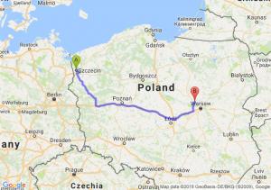 Trasa Szczecin - Nowy Dwór Mazowiecki