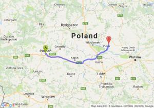Trasa Poznań - Bielsk