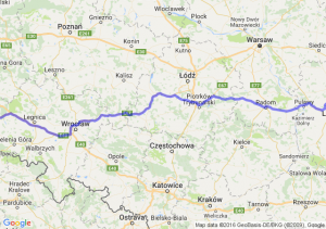 Lubartów (lubelskie) - Lubań (dolnośląskie)
