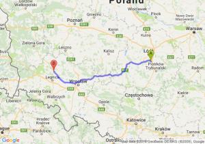 Trasa Tuszyn - Lubin