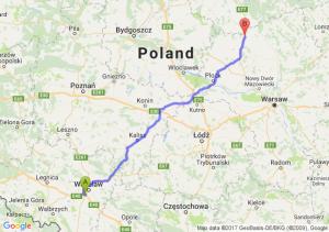 Trasa Bielany Wrocławskie - Mława