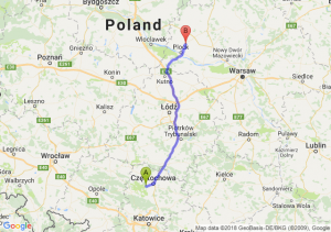 Trasa Blachownia - Bielsk