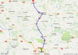 Trasa Lublin - Łuków