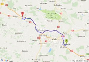 Trasa Świdnik - Markuszów