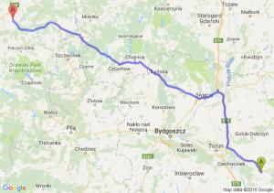 Lipno (kujawsko-pomorskie) - Białogard (zachodniopomorskie)