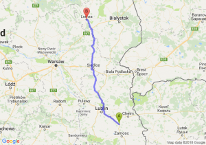 Krasnystaw - Łomża