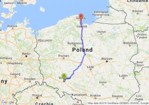 Trasa Bielany Wrocławskie - Sopot