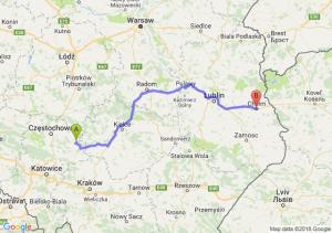 Trasa Lelów - Chełm