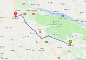 Trasa Gostynin - Brześć Kujawski