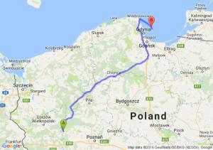 Międzychód (wielkopolskie) - Hel (pomorskie)
