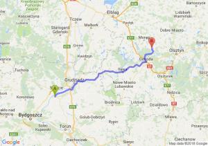 Trasa Chełmno - Łukta
