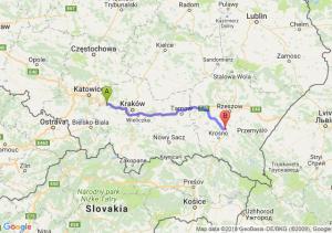 Trasa Chrzanów - Lutcza