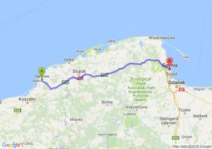 Darłowo - Gdynia