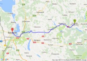Drawsko Pomorskie (zachodniopomorskie) - Szczecin (zachodniopomorskie)