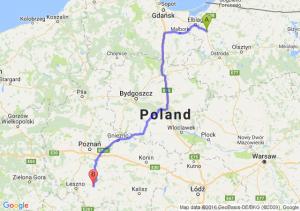 Pasłęk (warmińsko-mazurskie) - Gostyń (wielkopolskie)