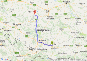 Trasa Bronowice - Błaszki