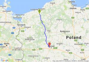 Trasa Białogard - Przyźmierowo