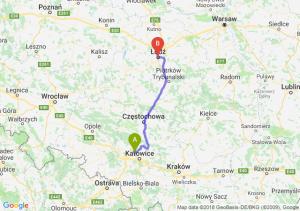 Trasa Bytom - Łódź