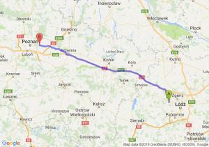 Trasa Aleksandrów Łódzki - Swarzędz