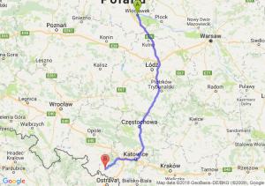 Trasa Włocławek - Racibórz