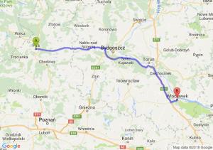 Trasa Piła - Włocławek