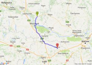 Trasa Lipno - Łowicz