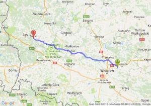 Trasa Borowa - Żagań