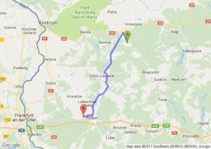 Trasa Muszkowo - Rzepin