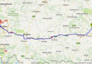 Leżajsk (podkarpackie) - Bytom (śląskie)