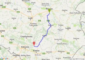 Piaseczno (mazowieckie) - Wolbrom (małopolskie)