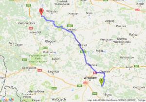 Jelcz-Laskowice (dolnośląskie) - Kargowa (lubuskie)