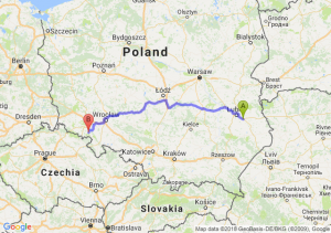 Trasa Piaski - Wałbrzych