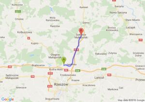 Nowa Wieś (koło Jasionki) - Sokołów Małopolski