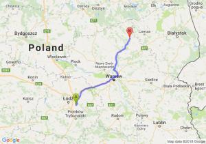Trasa Borowa - Ostrołęka
