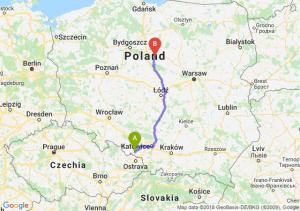 Trasa Racibórz - Lipno