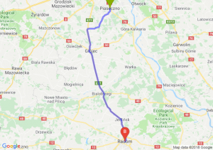 Trasa Piaseczno - Radom