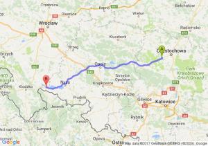 Trasa Blachownia - Paczków