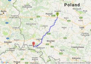 Września (wielkopolskie) - Jelenia Góra (dolnośląskie)