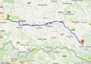 Chrzanów (małopolskie) - Zagórz (podkarpackie)