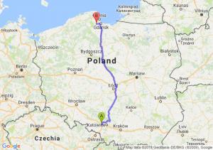 Trasa Gliwice - Żukowo