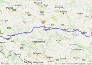 Legnica (dolnośląskie) - Rejowiec Fabryczny (lubelskie)