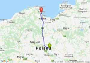 Trasa Lipno - Gdynia