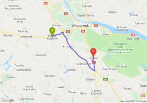 Trasa Brześć Kujawski - Kowal