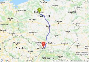 Trasa Bydgoszcz - Cieszyn