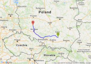 Trasa Busko-Zdrój - Rawicz